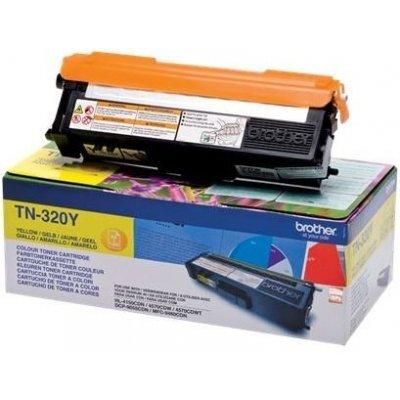 Картридж Brother TN320Y (TN320Y)Тонер-картриджи для лазерных аппаратов Brother<br>желтый для HL-4150CDN, MFC-9465CDN<br>