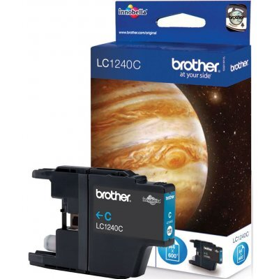 Картридж Brother LC1240C голубой (LC1240C) replacement ink cartridge for brother mfc j6510dw more