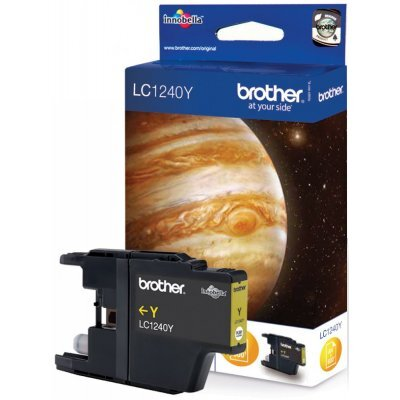 Картридж Brother LC1240Y желтый (LC1240Y) replacement ink cartridge for brother mfc j6510dw more