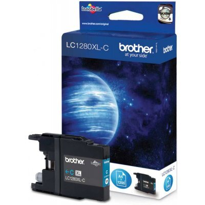 Картридж Brother LC1280XLC голубой (LC1280XLC) replacement ink cartridge for brother mfc j6510dw more