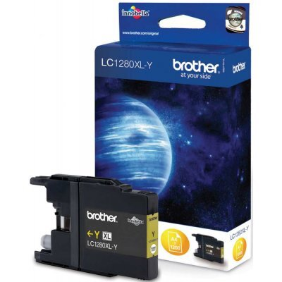 Картридж Brother LC1280XLY желтый (LC1280XLY) replacement ink cartridge for brother mfc j6510dw more