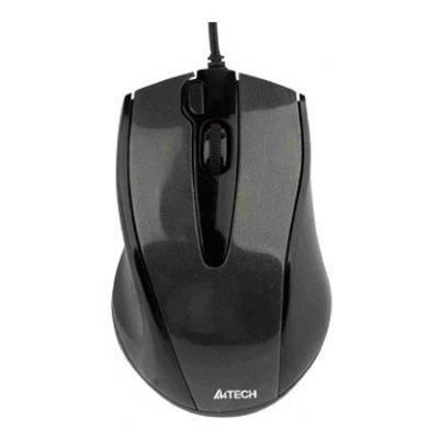 Мышь A4Tech N-500F Padless черная (N-500F)Мыши A4-Tech<br>USB<br>