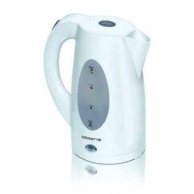 Электрический чайник Polaris PWK1885C (PWK1885C)Электрические чайники Polaris<br>чайник, объем 1.8 л, мощность 2200 Вт, закрытая спираль, установка на подставку в любом положении, пластиковый корпус, индикация включения<br>