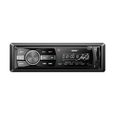 Автомагнитола Mystery MAR-919U (MAR-919U)Автомагнитолы Mystery<br>автомагнитола 1 DIN<br>воспроизведение MP3<br>макс. мощность 4 x 50 Вт<br>воспроизведение с USB-накопителя<br>аудиовход на передней панели<br>радиоприемник <br>поддержка карт памяти SD<br>