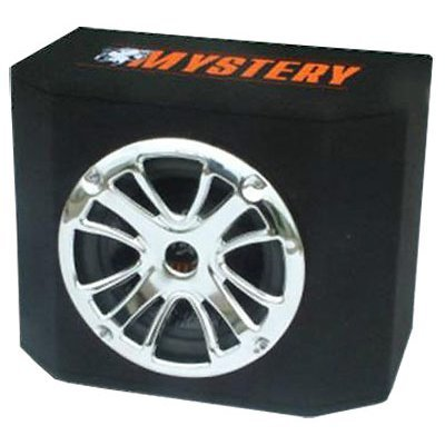 Сабвуфер автомобильный Mystery MBB-252A (MBB-252A)Сабвуферы автомобильные Mystery<br>сабвуфер<br>типоразмер: 25 см (10 дюйм.)<br>номинальная мощность 150 Вт<br>чувствительность 94 дБ<br>тип корпуса: закрытый ящик<br>встроенный усилитель<br>диапазон частот 28 - 1000 Гц<br>