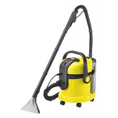 Пылесос Karcher SE4001 (SE4001)Пылесосы Karcher<br>Моющий пылесос, работающий по принципу распыления-экстракции для основательной чистки коврового и твердого покрытия пола. Благодаря дополнительным принадлежностям может использоваться как пылесос для сухой и влажной уборки.<br>