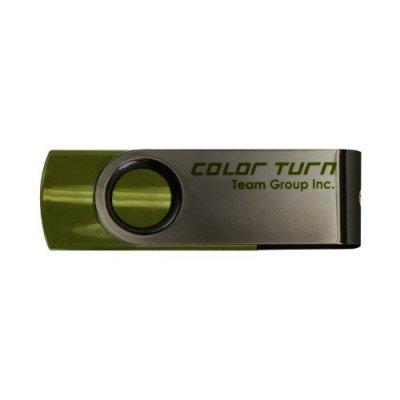 USB накопитель 4Gb TEAM Color Turn Drive E902, Green (765441002685) (TE9024GG01)USB накопители Team Group<br>Flash USB 2.0, Retail<br>