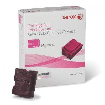 Набор твердочернильных брикетов ColorQube 8870 Пурпурный 6шт (17 300 отпечатков) (108R00959)Твердочернильные брикет Xerox<br>Для серий: Xerox ColorQube 8870.<br>