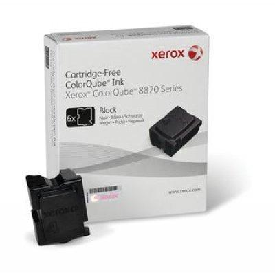 Набор твердочернильных брикетов ColorQube 8870 Черный 6шт (16 700 отпечатков) (108R00961)Твердочернильные брикет Xerox<br>Для серий: Xerox ColorQube 8870.<br>
