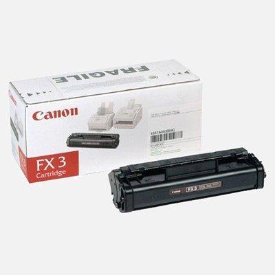 Картридж (1557A003) Canon FX-3 черный (1557A003)Тонер-картриджи для лазерных аппаратов Canon<br>подходит к Multipass-L60/L90, Fax-L200/250/280/300/350, ресурс примерно 2700 страниц (заполнение 5%)<br>