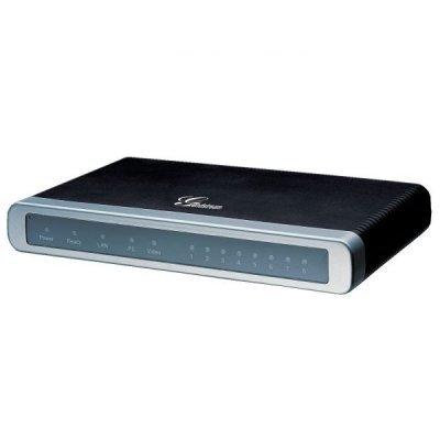 VOIP шлюз  Grandstream GXW4104 (GXW4104) атс panasonic kx tem824ru аналоговая 6 внешних и 16 внутренних линий предельная ёмкость 8 внешних и 24 внутренних линий