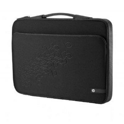 Чехол для ноутбука HP Notebook Sleeve LR378AA 17.3 черный-вишневый (LR378AA)Сумки для ноутбуков HP<br>HP Notebook Sleeve LR378AA 17.3 черный-вишневый<br>