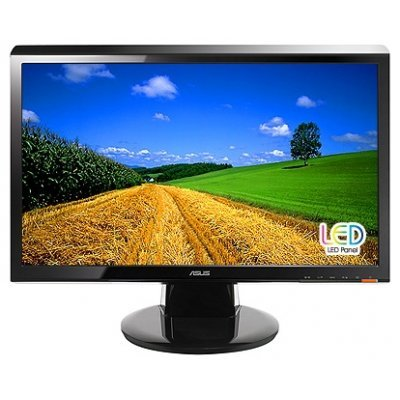 Монитор 21,5 Asus VH228T (90LMD4101T01021C-)Мониторы ASUS<br>Glossy-Black TN LED 5ms 16:9 DVI M/M 50M:1 250cd<br>