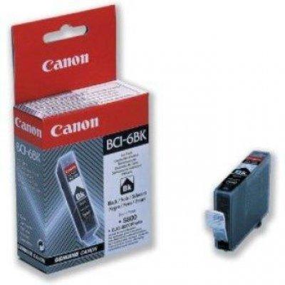 Картридж (4705A002) Canon BCI-6BK черный (4705A002)Картриджи для струйных аппаратов Canon<br>подходит к BJC-8200, S800/820D/830D/S900/S9000, ресурс примерно 270 страниц (заполнение 5%)<br>