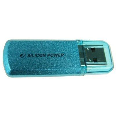 USB накопитель Silicon Power Helios 101 зеленый (SP008GBUF2101V1N)USB накопители Silicon Power<br>флэш-накопитель 8 Гб<br>интерфейс USB 2.0<br>материал корпуса: металл<br>