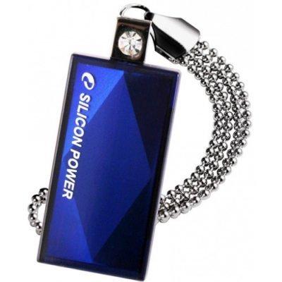 USB накопитель 8Gb Silicon Power Touch 810, USB 2.0, Синий (SP008GBUF2810V1B)USB накопители Silicon Power<br>флэш-накопитель 8 Гб<br>интерфейс USB 2.0<br>выдвижной разъем<br>водонепроницаемый корпус<br>материал корпуса: пластик<br>