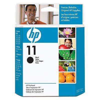 Печатающая головка HP № 11 (C4810A) для DJ 2200/ 2250 черная (C4810A) hp c4811a 11 printhead cyan для dj 2200 2250