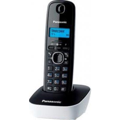 Радиотелефон Panasonic KX-TG1611 белый (KX-TG1611RUW)Радиотелефоны Panasonic<br>Р/Телефон Dect Panasonic KX-TG1611RUW (белый)<br>