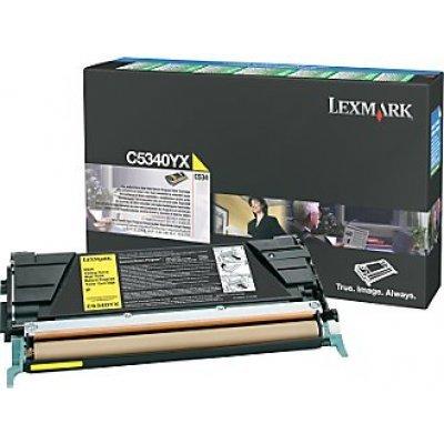 Картридж Lexmark C5340YX yellow для C534 (C5340YX)Тонер-картриджи для лазерных аппаратов Lexmark<br>(7 000 стр)<br>