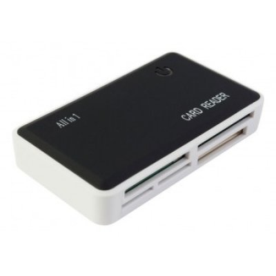 Картридер PC PET CR-211RBK 24 в 1 черный USB 2.0 (CR-211RBK)Картридеры PC PET<br>Устройство чтения карт памяти PC PET CR-211RBK USB 2.0 SDHC/CF/XD/MS/TF/M2 (24-in-1) Rubber Black<br>