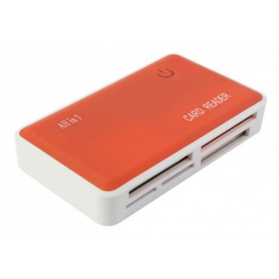Картридер PC PET CR-211ROG USB 2.0 SDHC/CF/XD/MS/TF/M2 (24-in-1) оранжевый (CR-211ROG)Картридеры PC PET<br>Устройство чтения карт памяти PC PET CR-211ROG USB 2.0 SDHC/CF/XD/MS/TF/M2 (24-in-1) Rubber Orange<br>