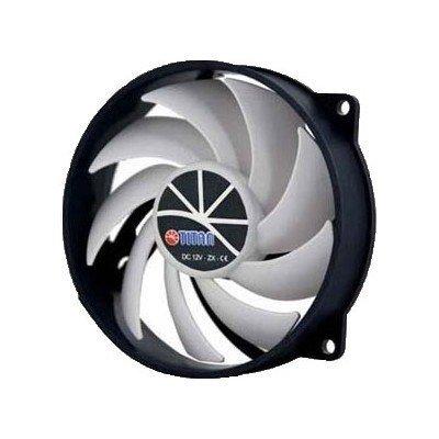 Вентилятор для корпуса Titan TFD-9525H12ZP/KU(RB) (TFD-9525H12ZP/KU(RB)) вентилятор канальный titan вк250 круглый