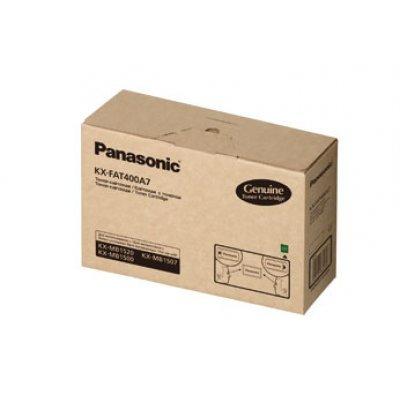 Тонер картридж Panasonic KX-FAT400A для KX-MB1500/1520RU (1 800 стр) (KX-FAT400A7)Тонер-картриджи для лазерных аппаратов Panasonic<br>Тонер картридж Panasonic KX-FAT400A для KX-MB1500/1520RU (1 800 стр)<br>
