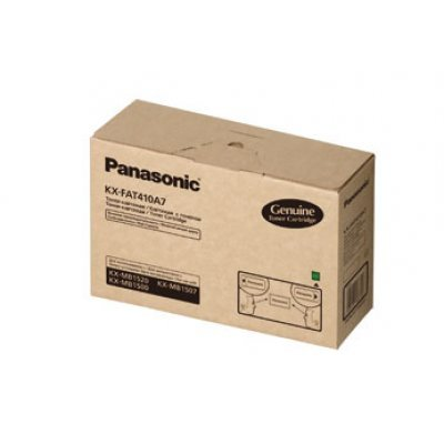 Тонер картридж Panasonic KX-FAT410A для KX-MB1500/1520RU (2 500 стр) (KX-FAT410A7) тонер туба panasonic dp 1515p в алматы