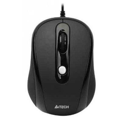 Мышь A4Tech N-250X-1 V-Track Padless черный (N-250X-1)Мыши A4-Tech<br>USB<br>
