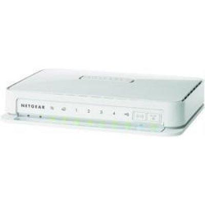 Wi-Fi роутер Netgear WNR2200 (WNR2200-100RUS)Wi-Fi роутеры Netgear<br>802.11n 300 Мбит/с (1 WAN и 4 LAN порта FE), поддерживает IPTV, L2TP и 3G модемы<br>