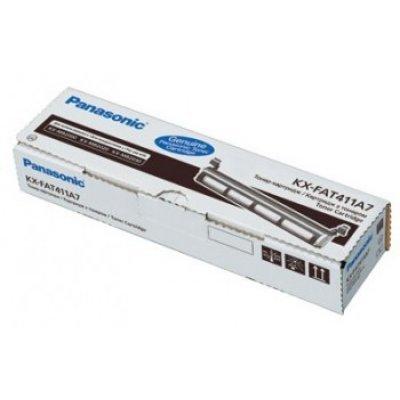 Тонер картридж Panasonic KX-FAT411A для KX-MB2000/2010/2020/2030 (2 000 стр) (KX-FAT411A7)Тонер-картриджи для лазерных аппаратов Panasonic<br><br>