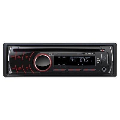 Автомагнитола Supra SCD-402U (SCD-402U)Автомагнитолы Supra<br>Съемная передняя панель <br>Совместимость с форматами CD-DA/MP3/WMA <br>Поддержка носителей CD/CD-R/CD-RW <br>Электронный анти-шок повышенной эффективности<br>