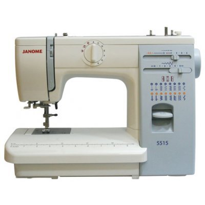 Швейная машина Janome 5515 (5515) электромеханическая швейная машина vlk napoli 2100