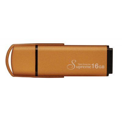 USB накопитель 16Gb TEAM Supreme U100, Metal case, Gold () (TU10016GD01)USB накопители Team Group<br>Flash USB 2.0, Metal case, Retail<br>
