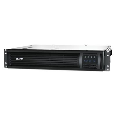 Источник бесперебойного питания APC Smart-UPS 750VA USB RM 2U 230V (SMT750RMI2U)Источники бесперебойного питания APC<br>APC Smart-UPS 750VA/500W, RM 2U, Line-Interactive, LCD, Out: 220-240V 4xC13 (2-Switched), SmartSlot, USB, COM, HS User Replaceable Bat, Black, 3(2) y.war.<br>