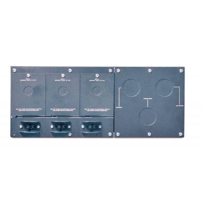 Байпас APC Service Bypass Panel SBP16KRMI4U (SBP16KRMI4U)Модули байпаса APC<br>APC Service Bypass Panel- 230V; 100A; MBB; Hardwire input; (3) 30A Hardwire Output<br>