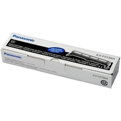 Тонер-картридж Panasonic KX-FAT88A (KX-FAT88A) термопленка panasonic kx fat88a для kx fl401 402 403 и flc411 412 413