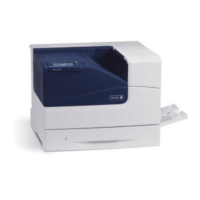 Цветной принтер Xerox Phaser 6700DN (6700V_DN)Цветные лазерные принтеры Xerox<br>Полноцветный лазерный принтер A4,  45/45 стр/мин цвет &amp;amp; ч/б, 2400Х1200 dpi, 7 сек-моно, 8 сек - цвет вых.первой копии, 1024Мб/2048Мб-max, макс.объем печати до 120000 стр/мес, PowerPC Risk 1,25GГц, AdobePostScript3, PCL5C, USB 2.0, 10/100/1000 Base-T Ethernet, Apple Bonjour, дуплекс, емкость осно ...<br>
