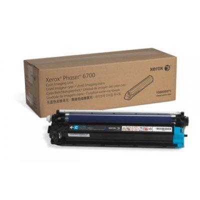 Фотобарабан Phaser 6700 Голубой (50 000 страниц) (108R00971)Фотобарабаны Xerox<br>голубой фотобарабан на 50 000 страниц при 5% заполнении (Cyan Imaging Unit)<br>
