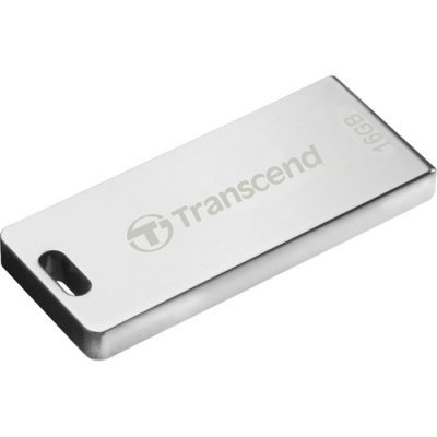 USB накопитель 16Gb Transcend JetFlash T3 серебристый (TS16GJFT3S)