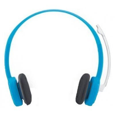 где купить  Компьютерная гарнитура Logitech Stereo Headset H150 голубой (981-000368)  дешево