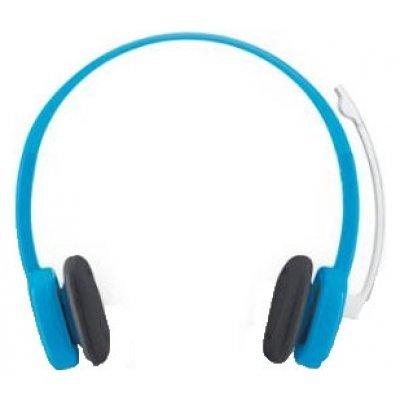 Компьютерная гарнитура Logitech Stereo Headset H150 голубой (981-000368)