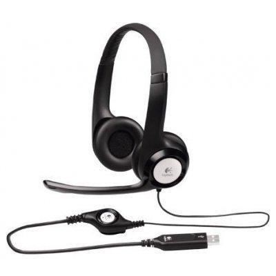Компьютерная гарнитура Logitech Stereo Headset H390 (981-000406)Компьютерные гарнитуры Logitech<br>Logitech Headset H390, Stereo, USB, [981-000406]<br>