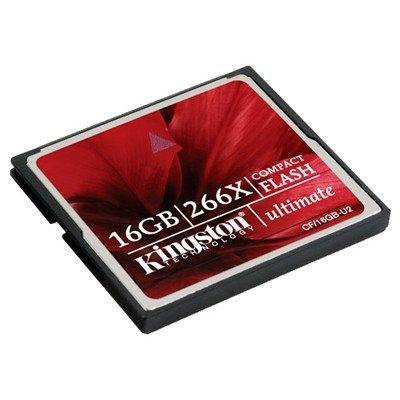 Карта памяти Kingston 16Gb Compact Flash (CF/16GB-U2) (CF/16GB-U2)Карты памяти Kingston<br>Флеш карта CF 16Gb Kingston<br>