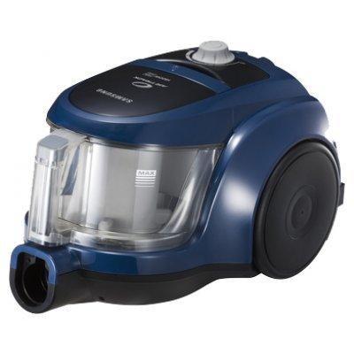 Пылесос Samsung SC4520 синий (SC4520)Пылесосы Samsung<br>сухая уборка, с циклонным фильтром, без мешка для сбора пыли, работа от сети, мощность всасывания 350 Вт, потребляемая мощность 1600 Вт, вес 4.3 кг<br>