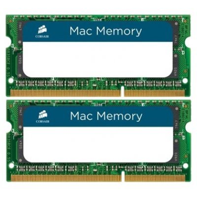 Фото Модуль память SO-DDR3 8192Mb 1333MHz Corsair (CMSA8GX3M2A1333C9) Kit of 2 RTL