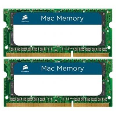 Модуль память SO-DDR3 8192Mb 1333MHz Corsair (CMSA8GX3M2A1333C9) Kit of 2 RTL (CMSA8GX3M2A1333C9)Модули оперативной памяти ПК Corsair<br>Память SO-DDR3 8192Mb 1333MHz Corsair<br>