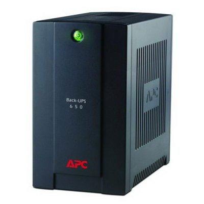 Источник бесперебойного питания APC Back-UPS 650VA AVR 230V CIS (BX650CI-RS)Источники бесперебойного питания APC<br>650VA/390W, 230V, AVR, 3xSchuko outlets (battery backup), DSL protection, USB, PCh, user repl. batt. (New! instead of BR650CI-RS)<br>