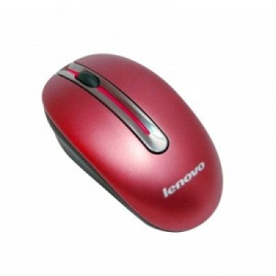 Фото Мышь Lenovo Wireless Mouse N3903A Red