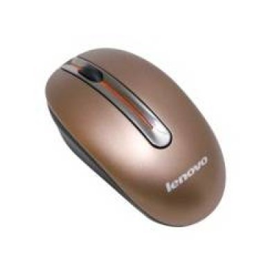 Фото Мышь Lenovo Wireless Mouse N3903A Coffee